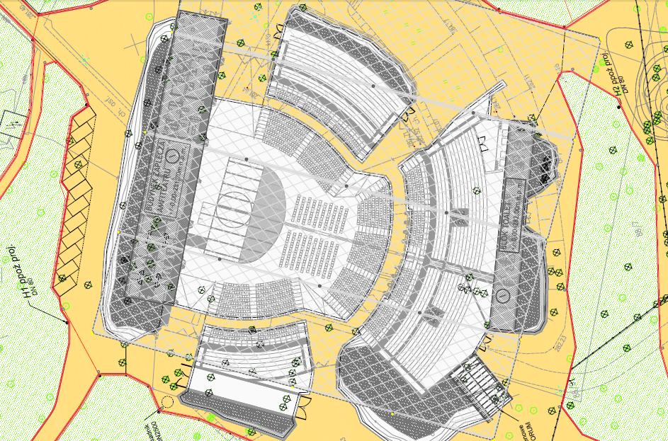 amfiteatr w Parku Strzeleckim - projekt