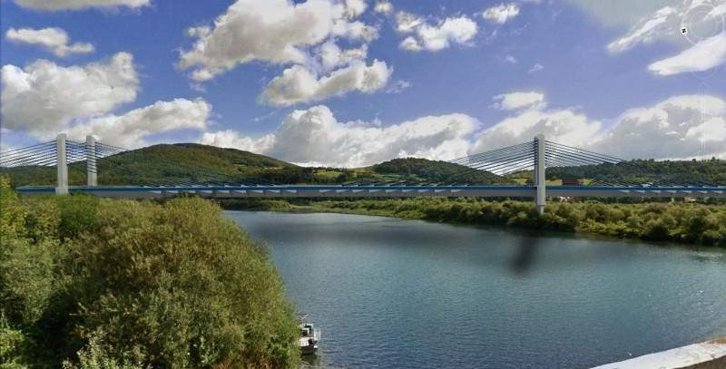 most Kurów wizualizacja