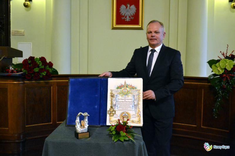 prezes Newagu Zbigniew Konieczek
