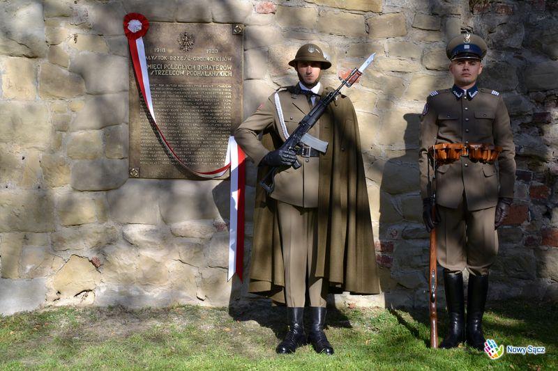 Odtworzono tablice ku czci poległych żołnierzy I Pułku Strzelców Podhalańskich