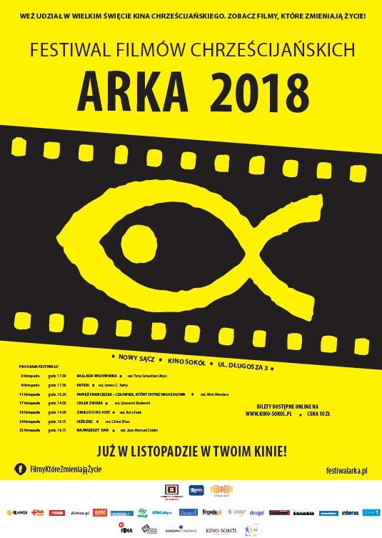 Festiwal Filmów Chrześcijańskich Arka w Nowym Sączu