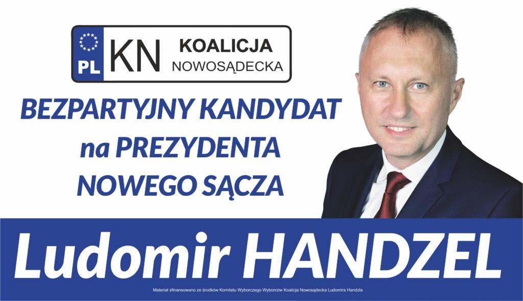 Ludomir Handzel. Bezpartyjny kandydat na prezydenta Nowego Sącza