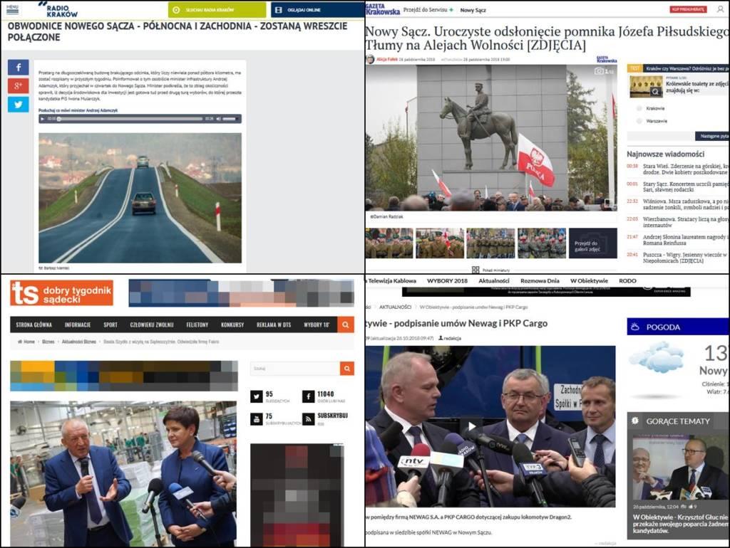 Przy Alejach Wolności uroczyście odsłonięto pomnik Marszałka Józefa Piłsudskiego