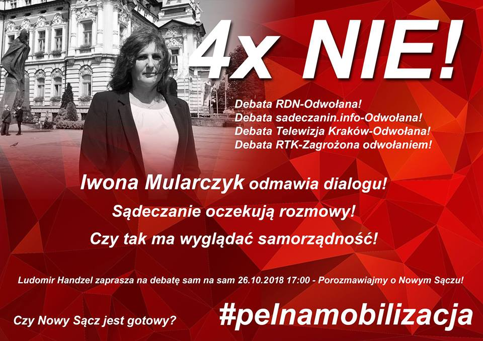 druga tura wyborów z udziałem Mularczyk i Handzla