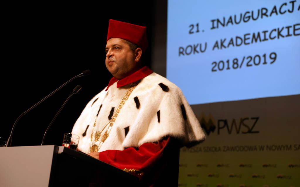 rok akademicki 2018 / 2019 - inauguracja PWSZ Nowy Sącz