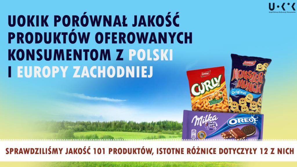 produkty w Polsce i Niemczech - testy porównanie