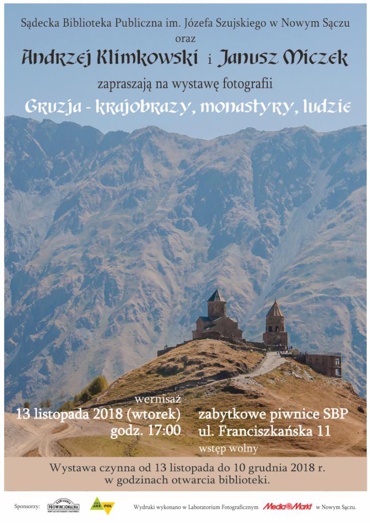 Gruzja - krajobrazy - wystawa