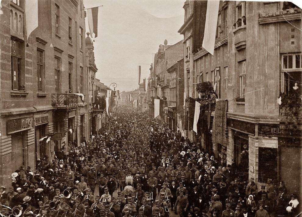 1918 w Nowym Sączu