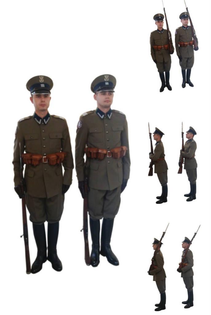 Nowe mundury Kompanii Reprezentacyjnej SG