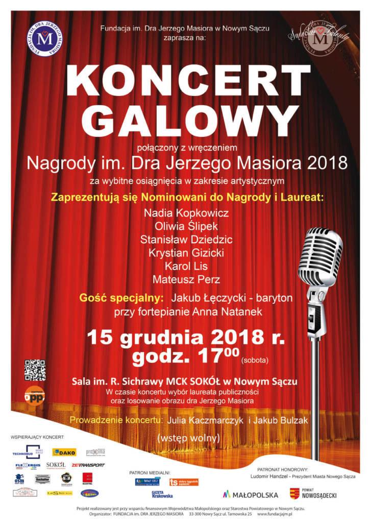 15 grudnia 2018 r. Fundacja wręczy kolejny raz Nagrodę im. Dra Jerzego Masiora