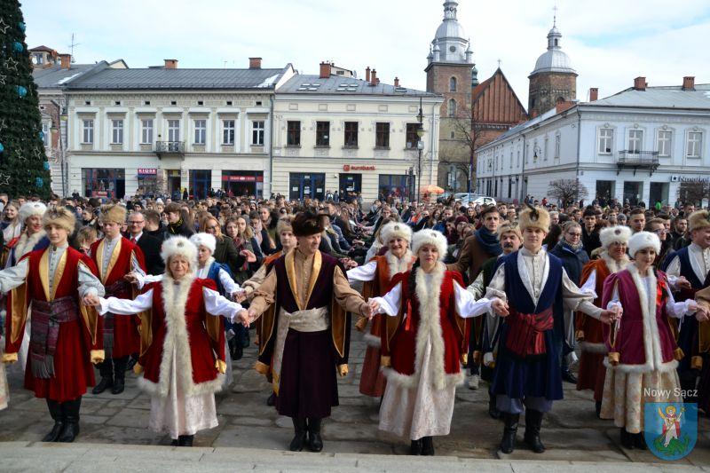 polonez pod ratuszem 2019 Nowy Sącz