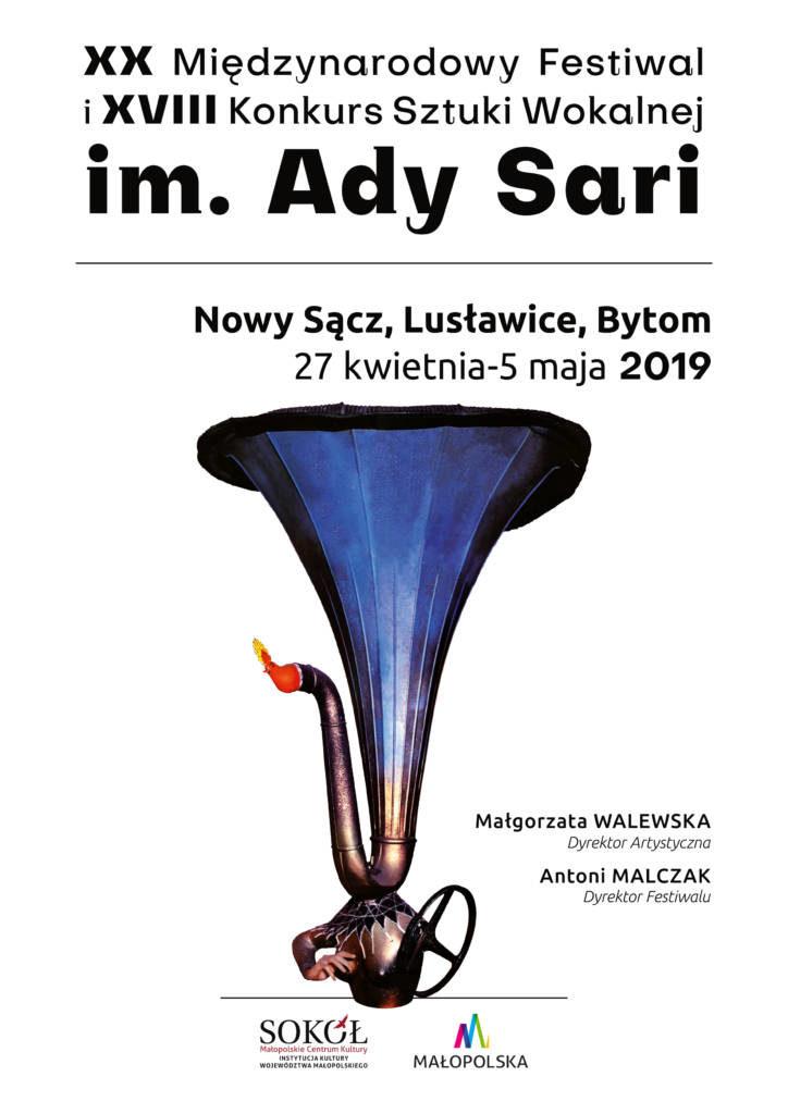 XX Międzynarodowy Festiwal i XVIII Konkurs Sztuki Wokalnej im. Ady Sari