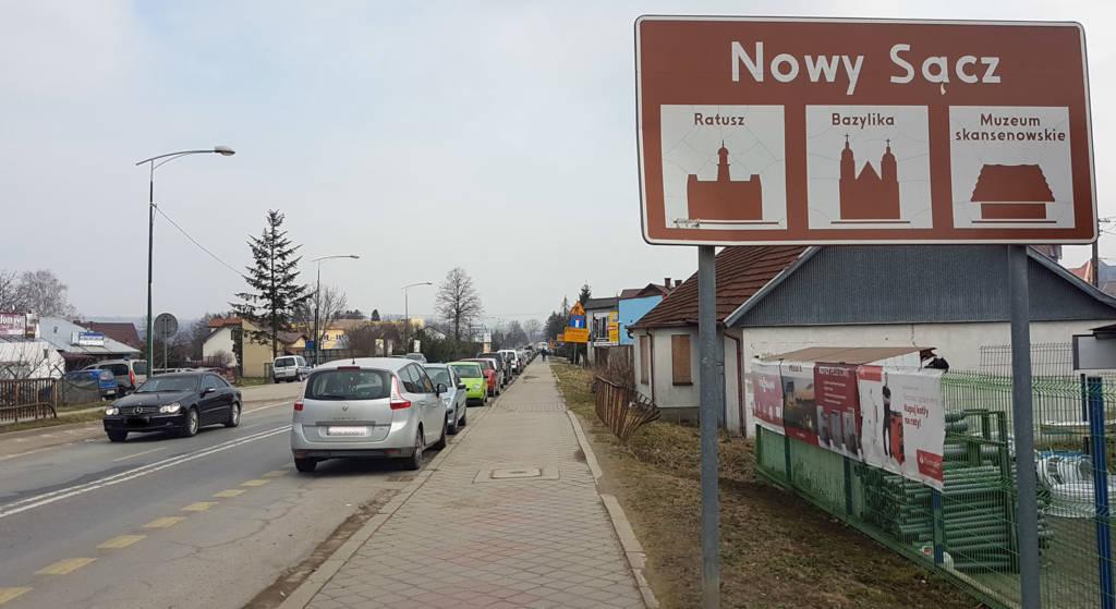remont Krakowskiej Nowy Sącz