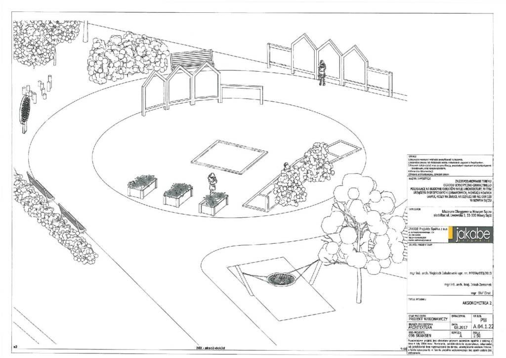 ogród edukacyjno-sensoryczny