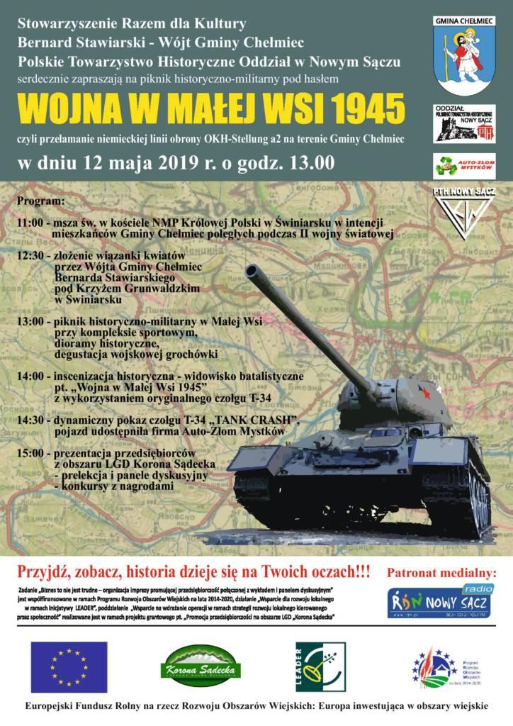 T-34 pokaz Mała Wieś