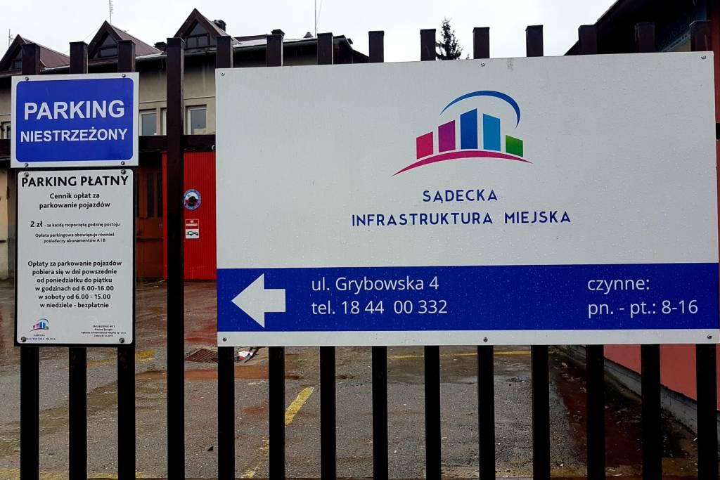 sądecka infrastruktura miejska