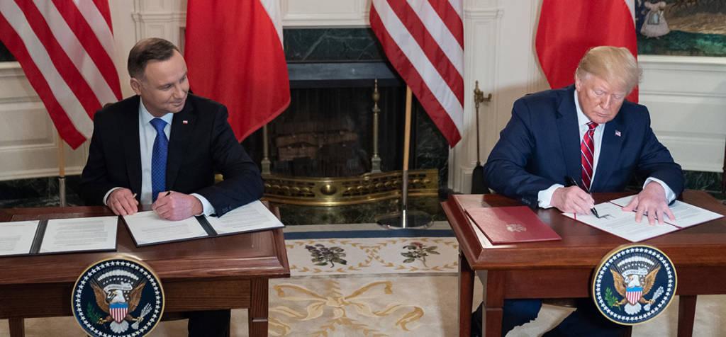 Wspólna Deklaracja o Współpracy Obronnej w zakresie obecności sił zbrojnych Stanów Zjednoczonych Ameryki na terytorium Rzeczypospolitej Polskiej