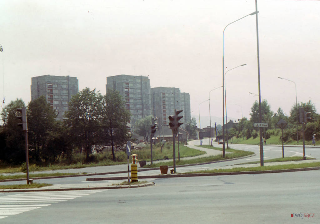 osiedle Millenium bloki od strony ul. Nawojowskiej