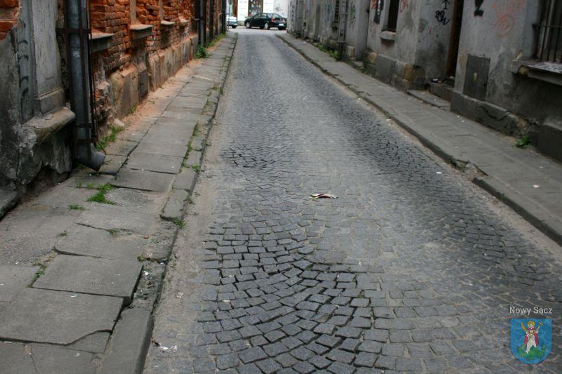 remont ulicy Wąskiej
