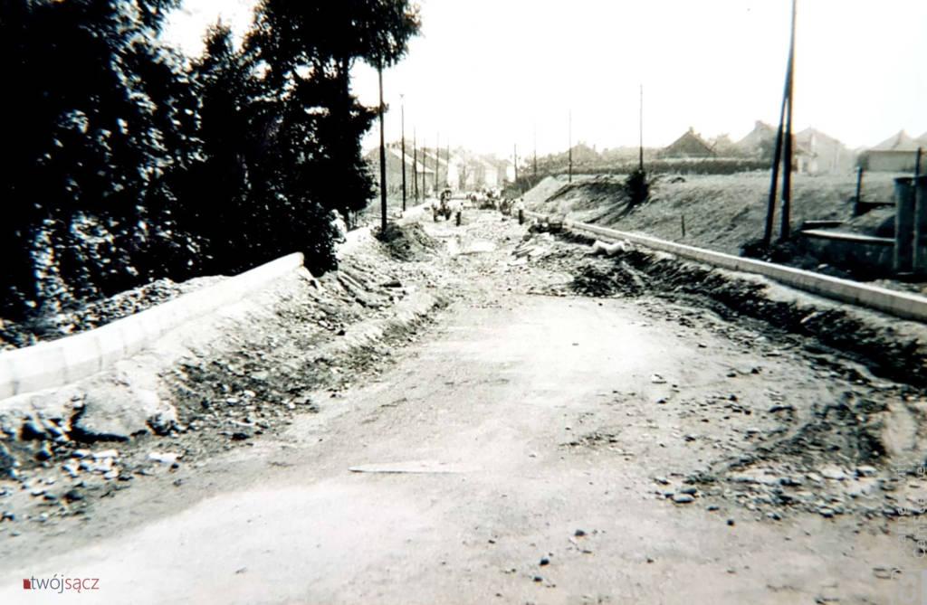 Nowy Sącz 1959 budowa Nawojowskiej