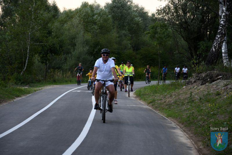 Ścieżka pieszo-biegowo-rowerowa nad Kamienicą Nowy Sącz