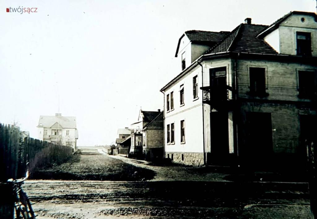 dom przy Nawojowskiej Sącz róg Borelowskiego 1935