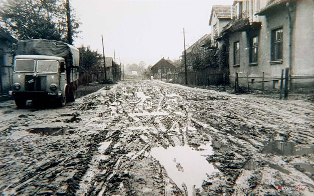 Nowy Sącz ul. Paderewskiego 1959