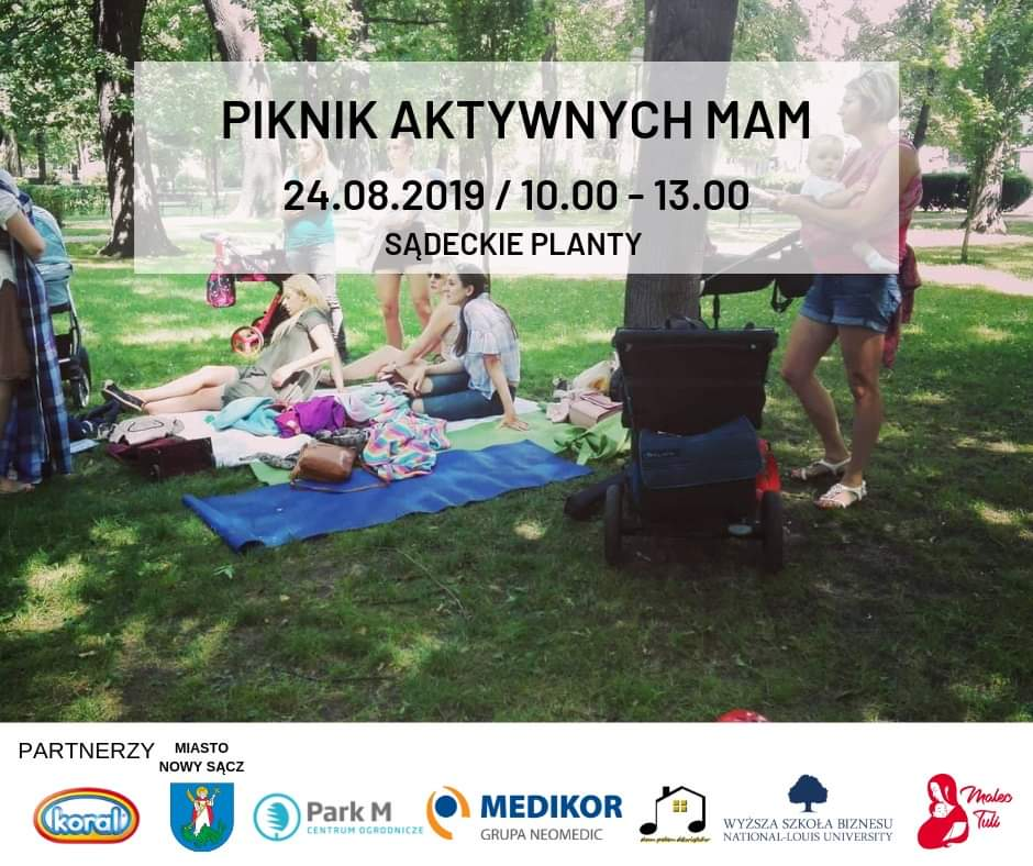 Piknik Aktywnych Mam Nowy Sącz