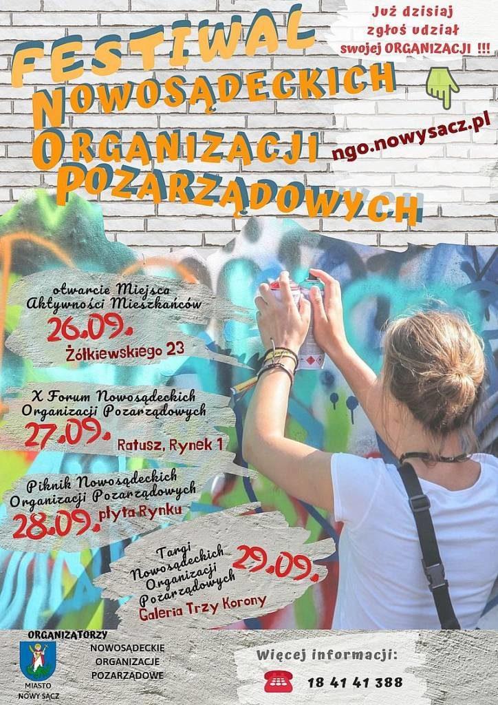 Festiwal Nowosądeckich Organizacji Pozarządowych