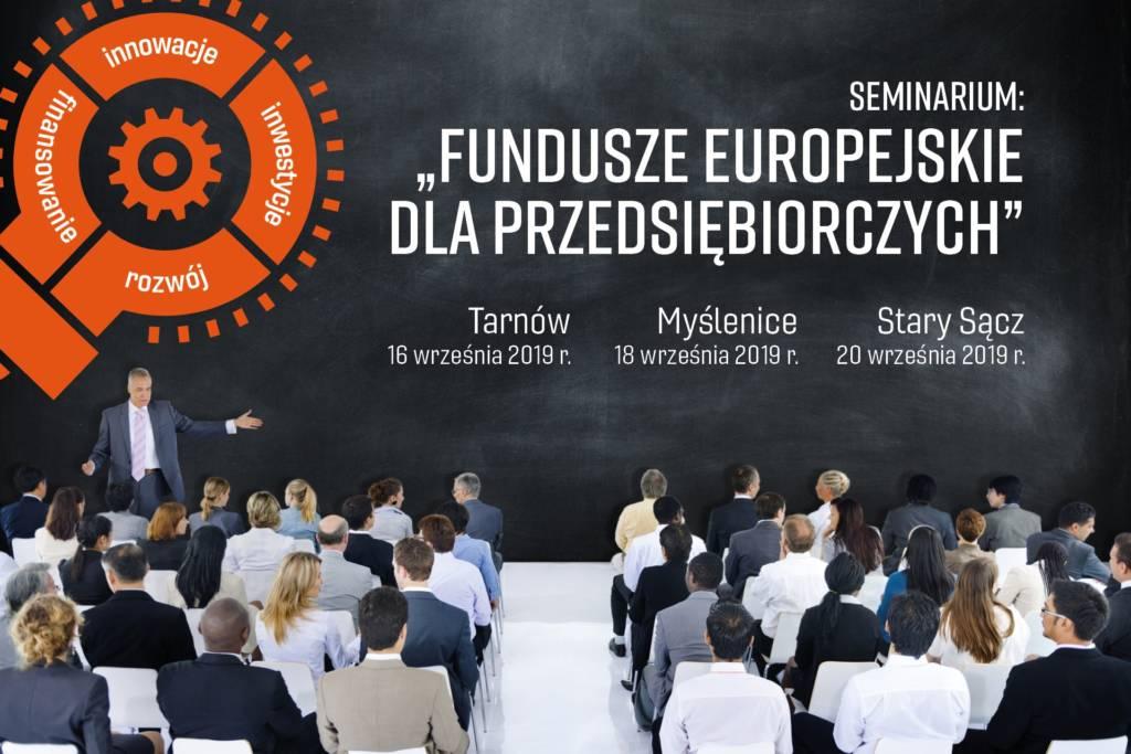 Fundusze Europejskie dla przedsiębiorczych