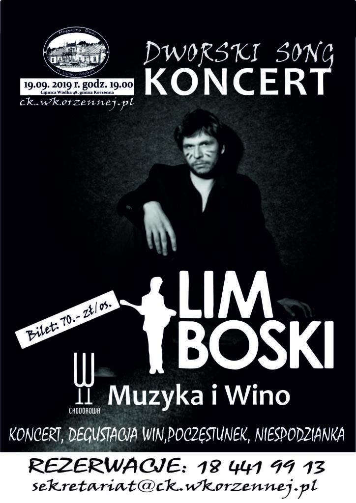 Limboski w Muzycznym Dworze w Lipnicy Wielkiej