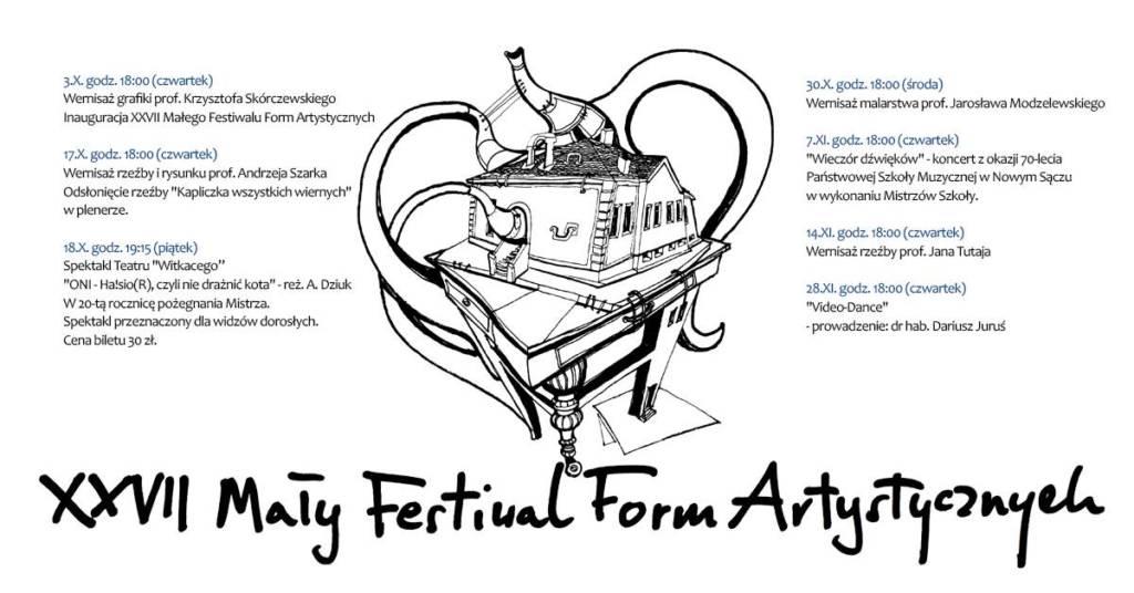 27. Mały Festiwal Form Artystycznych