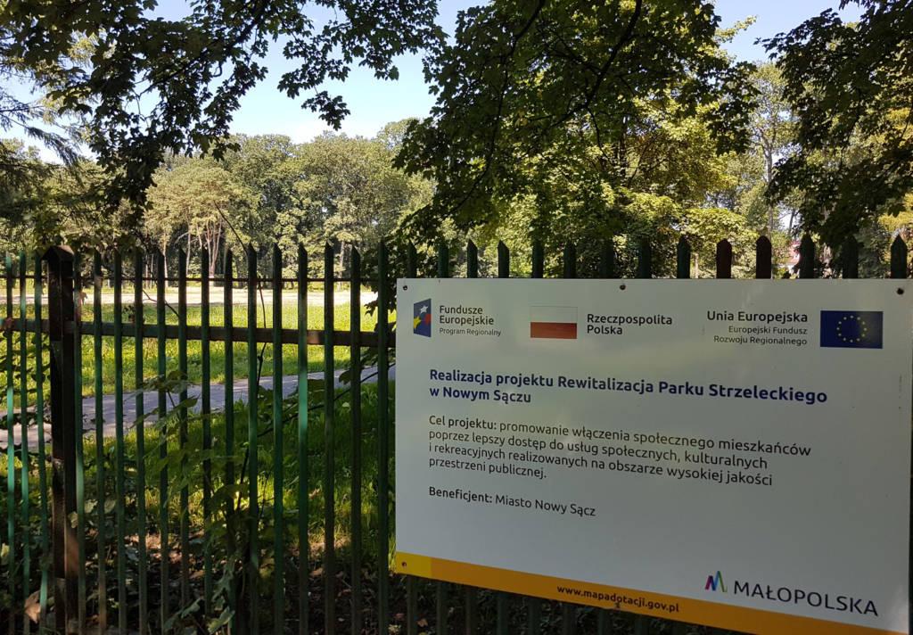Rewitalizację Parku Strzeleckiego wykona sądecka firma Erbet