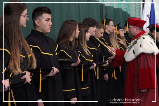rok akademicki 2019 / 2020 PWSZ Nowy Sącz inauguracja