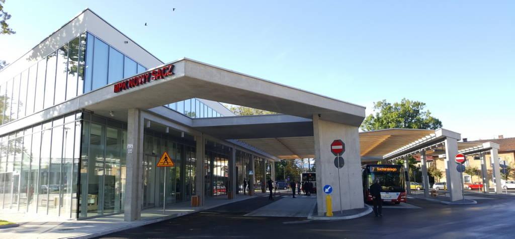 nowy dworzec sądeckiego MPK