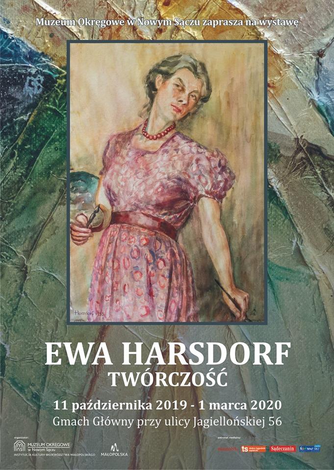 Ewa Harsdorf wystawa w Nowym Sączu